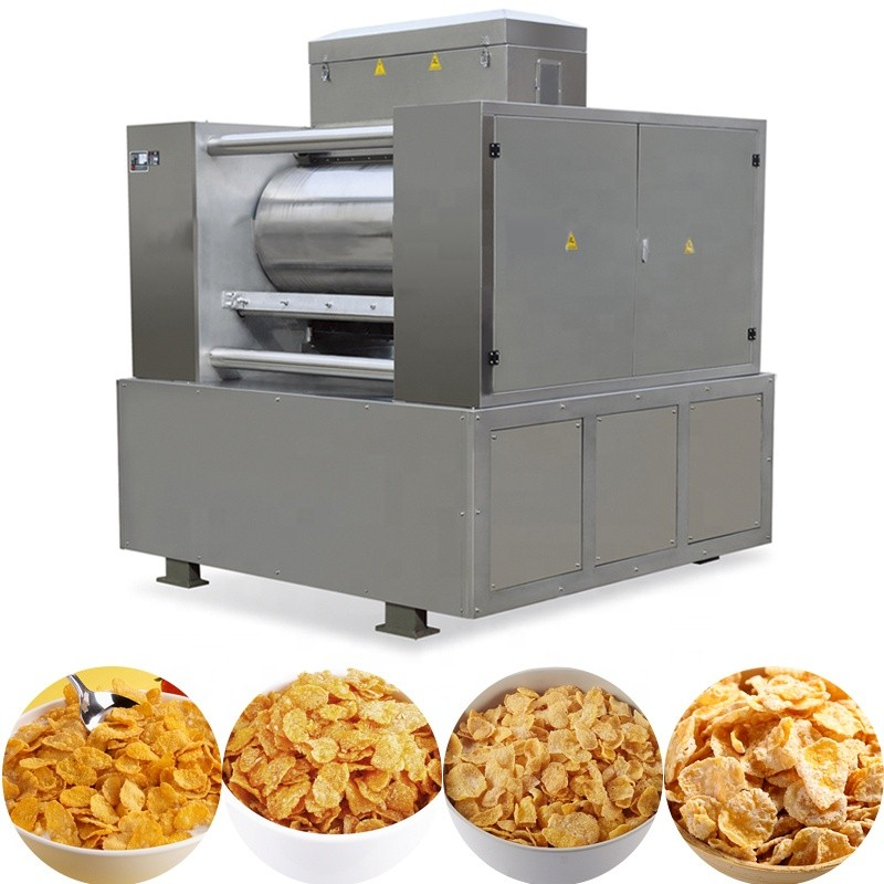 Manufacturer breakfast cereal production line price making corn flakes machinery