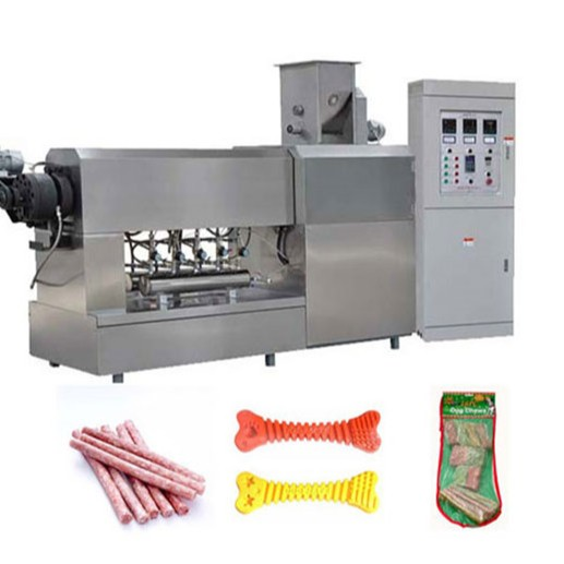 Intelligent Dog Chewing Food Extruder Machine 100kg/Hr Pet Food Extruder
