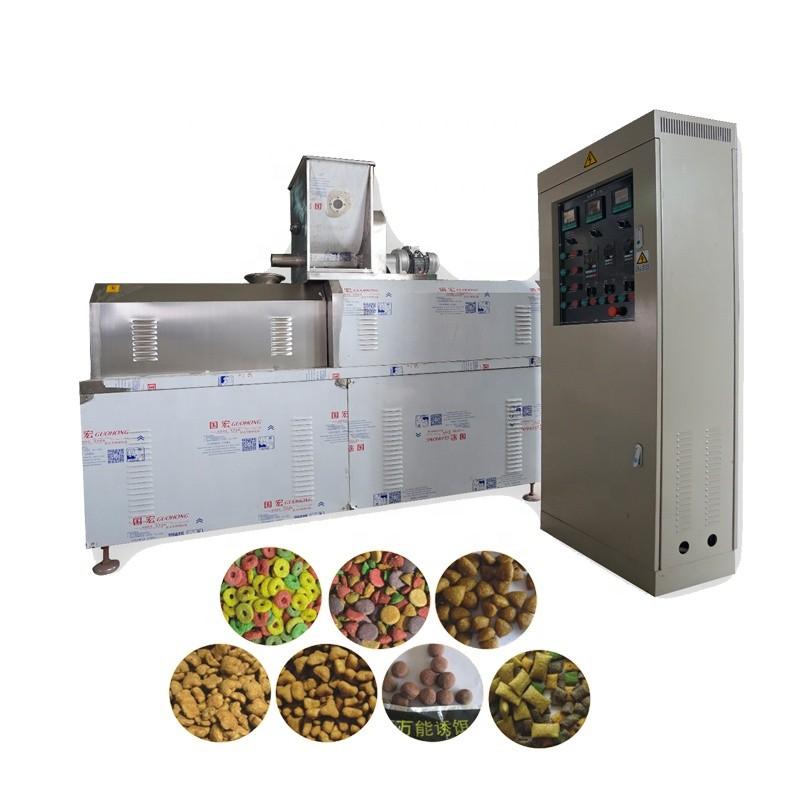 Automatic Pet Treats Feed Processing Machinery Dog Chewing Food Machine