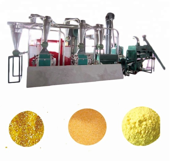 Manual maize mill malt grain maize packaging machine machinery used flour mills instant flour machine