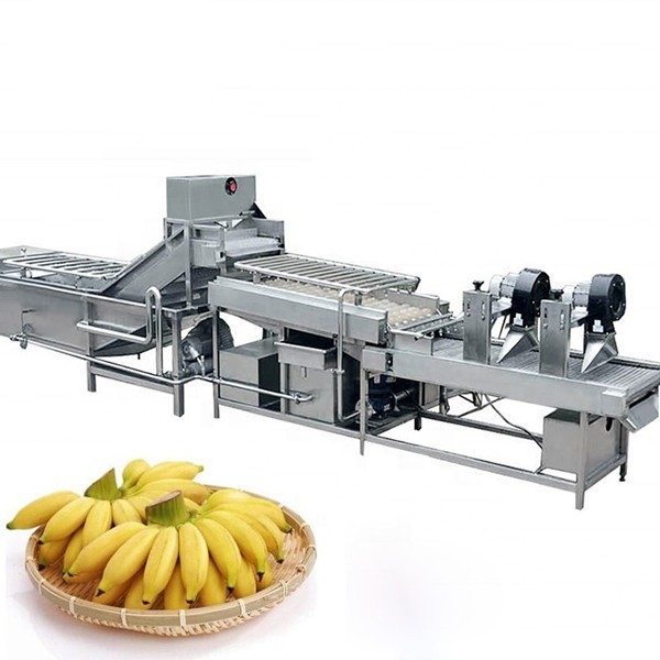 Complete Automatic Dried Banana Chips Production Line