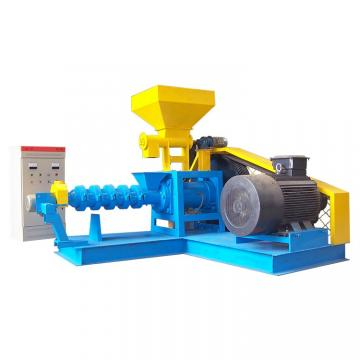Fish Extruder Machine Floating Fish Feed Processing Line CE / ISO Certification