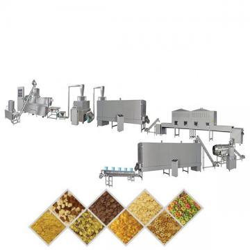 Puffed Corn Flakes Making Machine , Breakfast Cereals Maize Flakes Making Machine