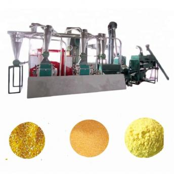 Manual maize mill malt grain maize packaging machine machinery used flour mills instant flour machine