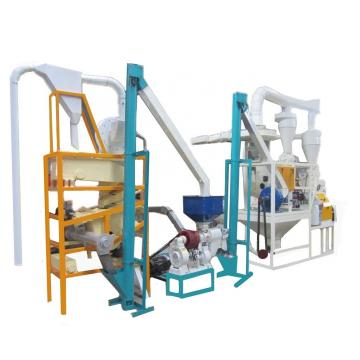 Fully Automatic Instant Maiz Flour Machine Corn Machine for Making Flour Price