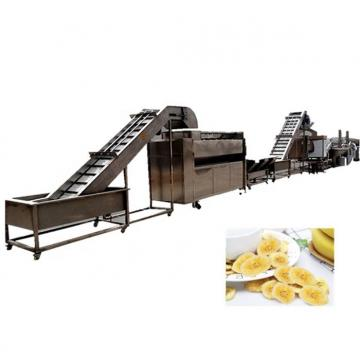 Industry Plantain Chips Frying Machine Banana Chips Production Line