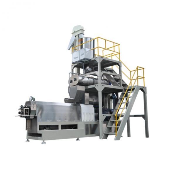 0.03-0.04t/H Fish Feeding Equipment , Small Single Screw Fish Feed Processing Machine #2 image