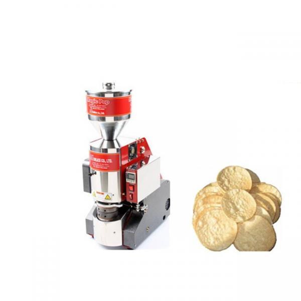 Grain Rice Cake Pop Air Popper Maize Popping Machine new design hot air puffed rice popper machine #3 image