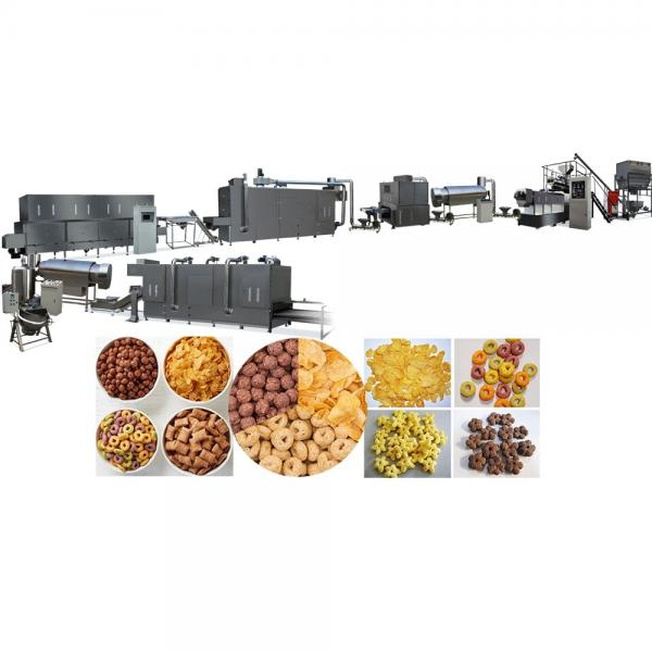 Automatic Cereal Breakfast Corn Flakes Snack Food Making Machine #1 image