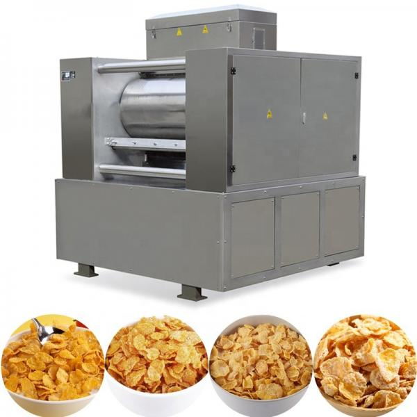 Automatic Cereal Breakfast Corn Flakes Snack Food Making Machine #2 image