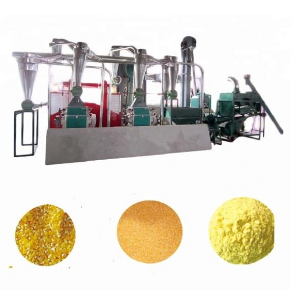 Manual maize mill malt grain maize packaging machine machinery used flour mills instant flour machine #1 image