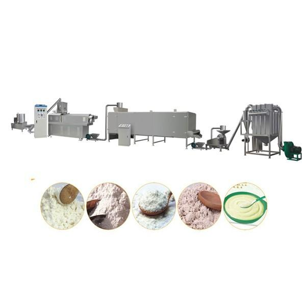 Manual maize mill malt grain maize packaging machine machinery used flour mills instant flour machine #3 image